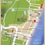 แผนที่ โรงแรม เดอะ ชะอำ เมธาวลัย