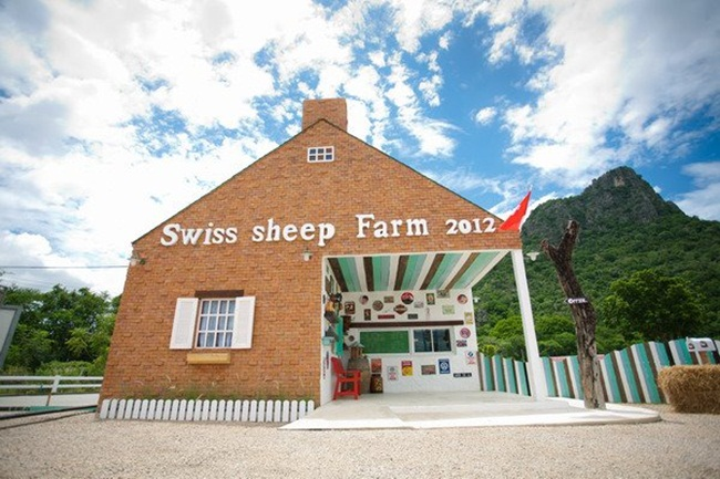 Swiss Sheep Farm ฟาร์มแกะชะอำ
